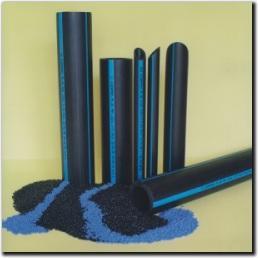 Polietilén csövek - ivóvíz minősítésű KPE cső fotó