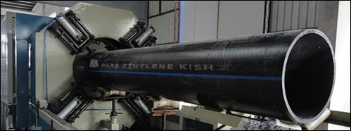 Polietilén csövek - KPE cső húzás fotó 1
