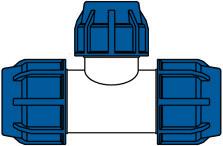 KPE idomok - szűkítő t-idom ábra