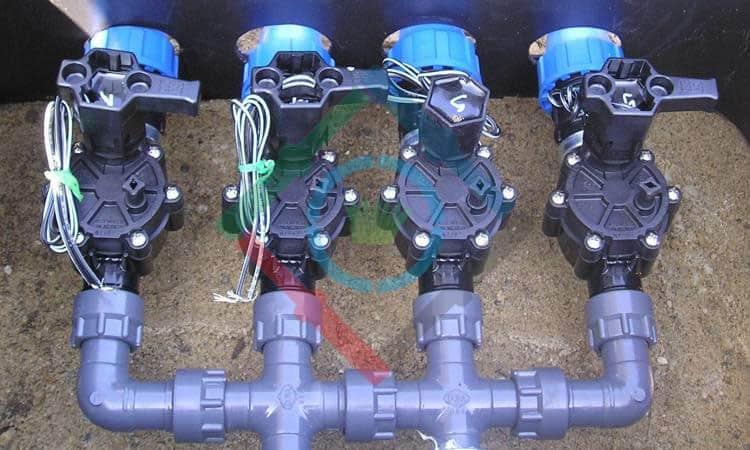 Hatékony öntözőrendszer - mágnesszelpek fotó