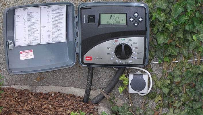 Hatékony öntözőrendszer - vezérlő fotó