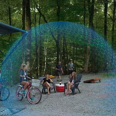 Kerti Szúnyogriasztók - Thermacell Lexington szúnyogriasztó készülék kép 1