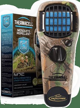 Vadász Szúnyogriasztók - Thermacell Xtra zöld, terepmintás, személyi szúnyogriasztó készülék fotó